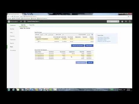 Video: Sales Tax Tracking in QBO