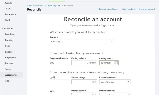 New QBO Reconcile Feature