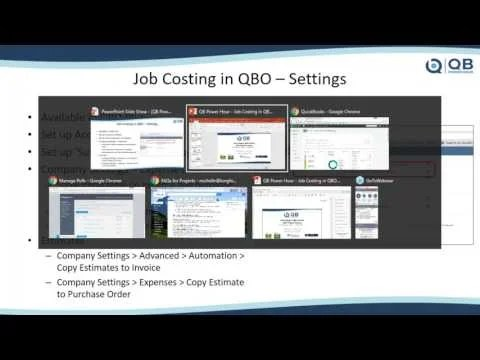 Video: Job Costing in QuickBooks Online (QBO) with the NEW Projects Feature