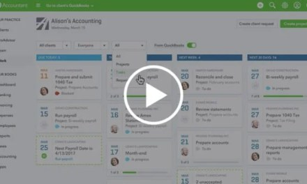 Video: Manage ALL your clients and your work from within QuickBooks Online Accountant