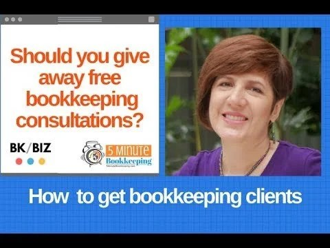Should you give free bookkeeping consultations?
