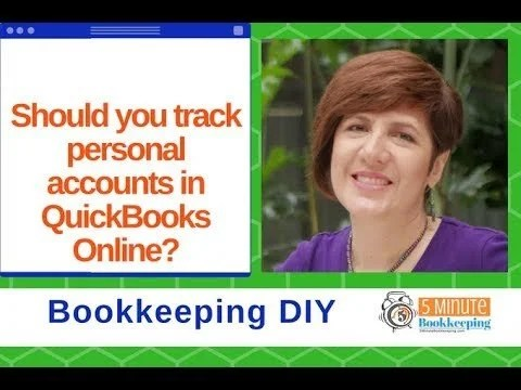 Should you track personal accounts in QuickBooks Online?
