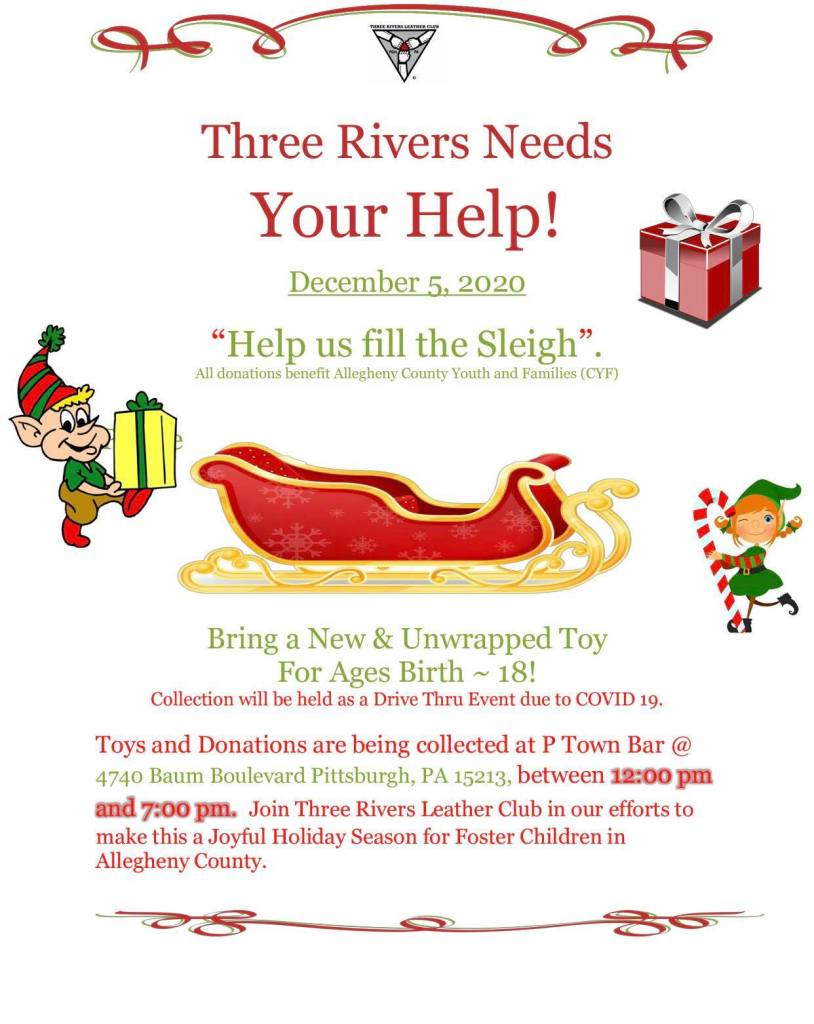 Three Rivers Leather Club Toy Drive