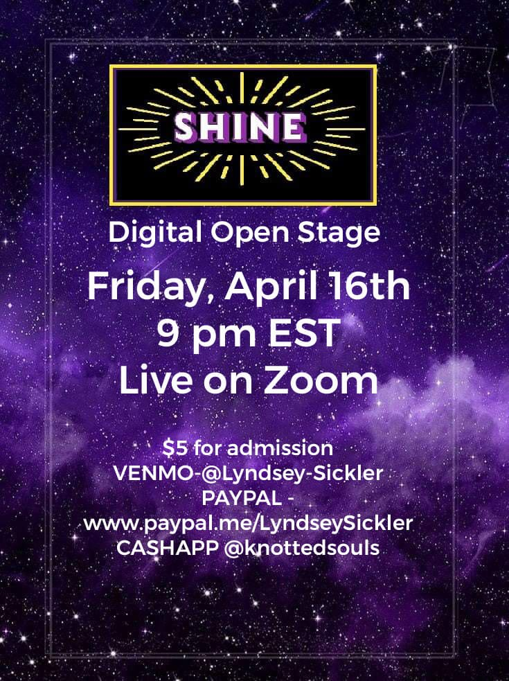 April Shine Digital Open Stage Show
