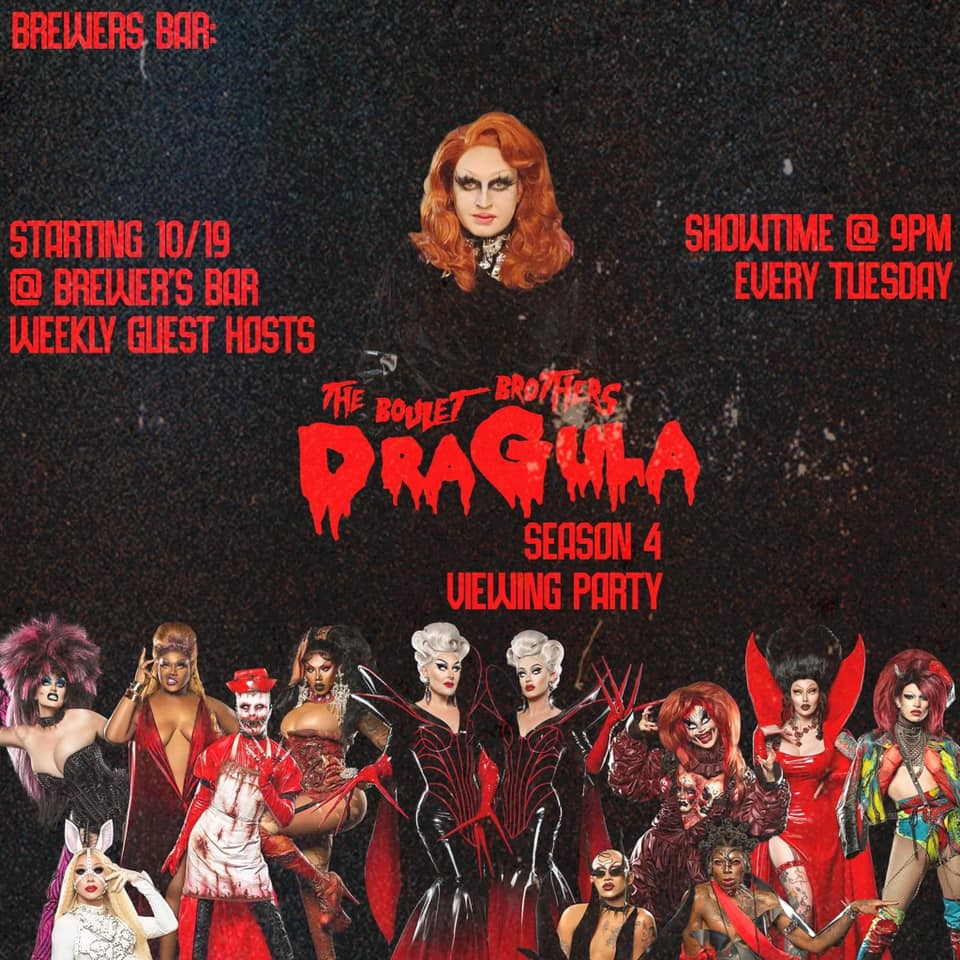 The Boulet Brothers Dragula Season 4 Viewing Party