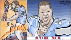 (Originally posted on TheFarmClub.net) Don't blame Suh. In Portland, kicking or stomping an opponent is the traditional Thanksgiving greeting. That's what happens when you give hipsters their own city.