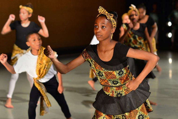 African Dance - Charlotte Ballet - Photo by Peter Zay