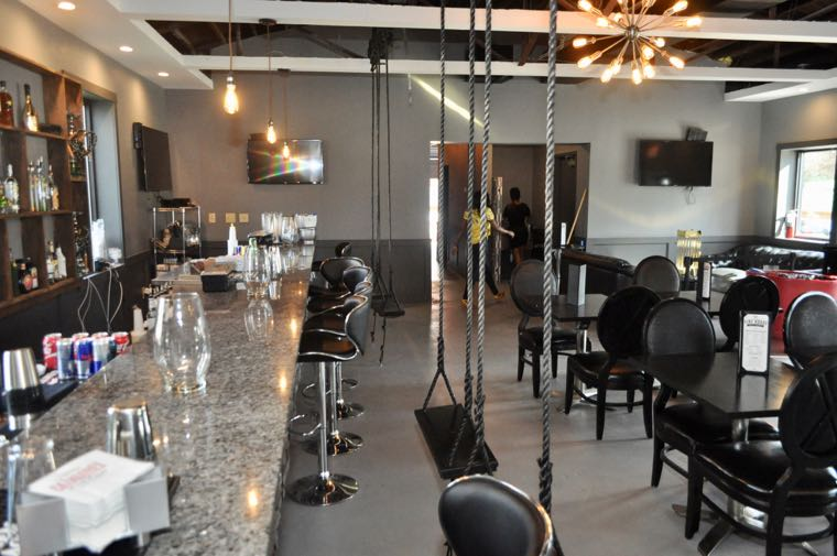 A peek inside Firehouse Bar  Lounge soon to be Charlottes