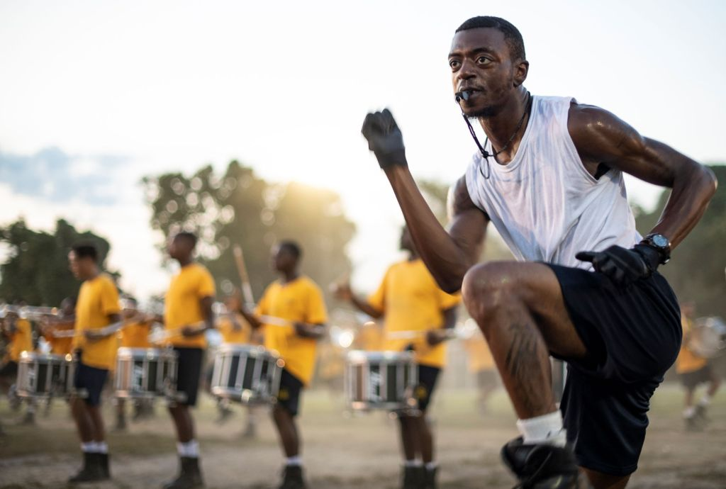 Blue-Gold-Marching-Machine