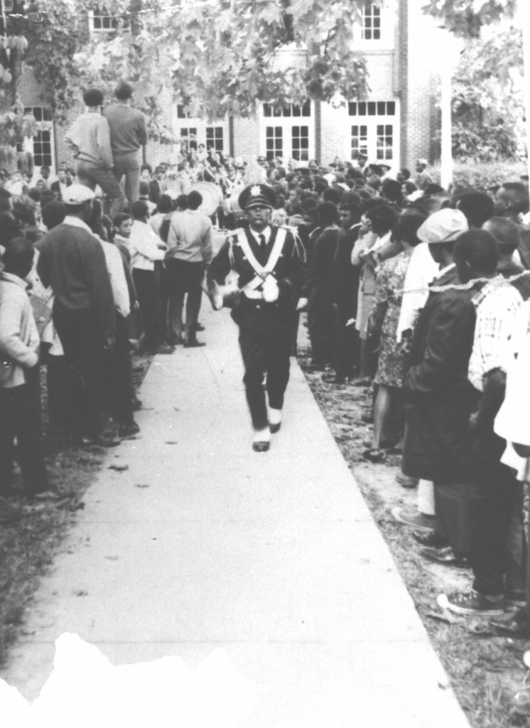 Clarence-Fisher-NCAT-Blue-Gold-Marching-Machine-1969