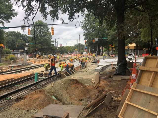 Gold-Line-construction