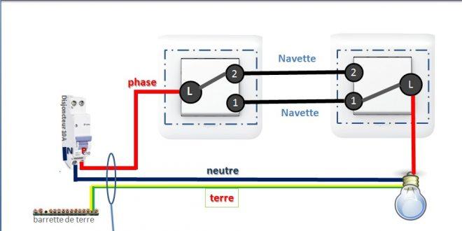 Comment Brancher Un Va Et Vient Avec 2 Interrupteurs Schemas De Branchement Tests Jeux Educatifs En Ligne