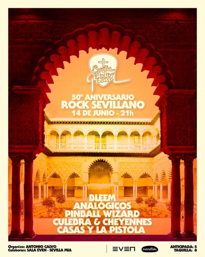 50 Aniversario Rock Sevillano - Sala Even - 14 Junio