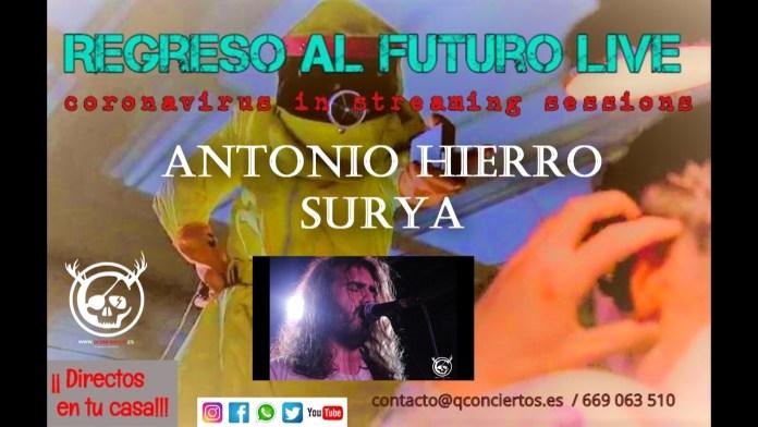 Antonio Hierro (Surya) QConciertos.es