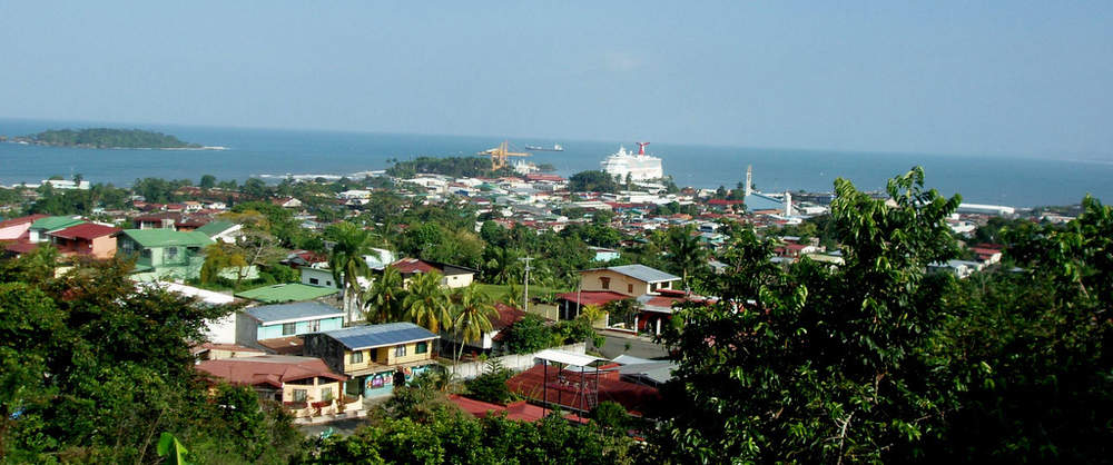 Puerto Viejo Costa Rica Town