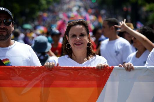 Costa Rica's second vice-president Ana Chacon