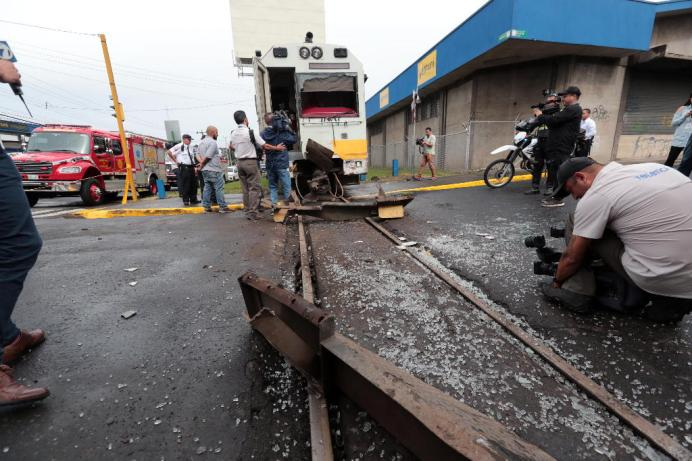 Choque Tren San José