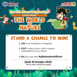 Fun with Idioms & Expressions Lucky Draw: The World of Nature