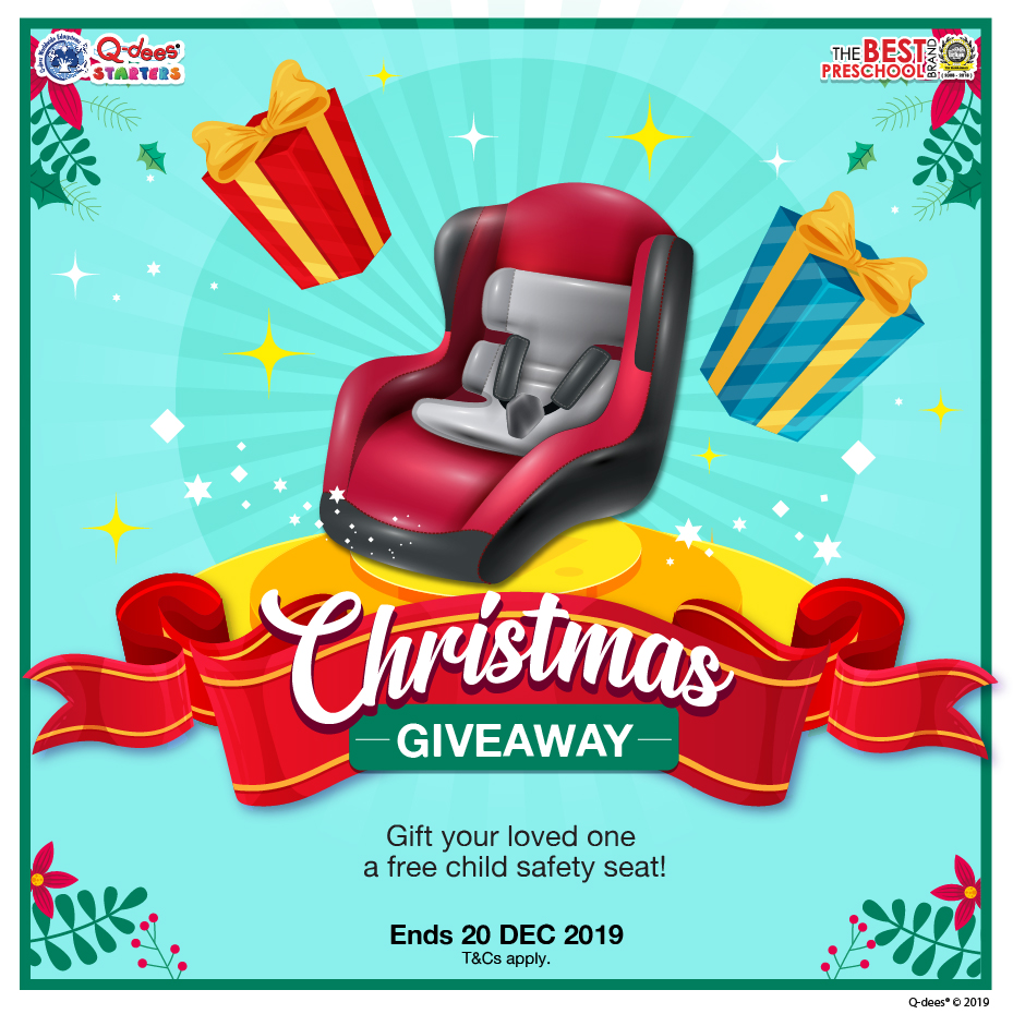 Car Seat Christmas Giveaway FB Post