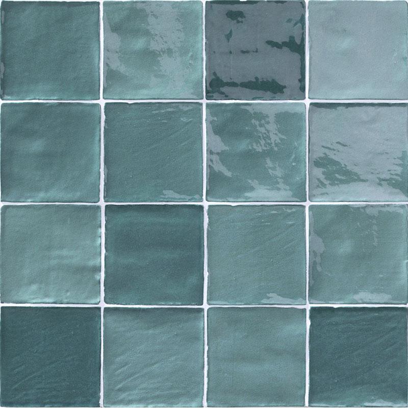 mix turchese 4 x4 ceramic wall tile