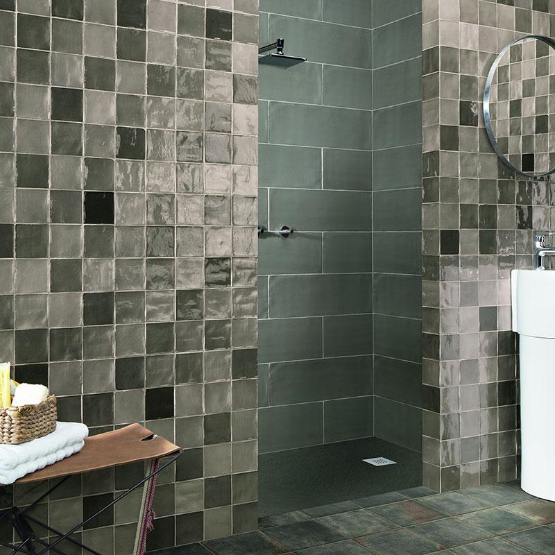 stow mix grey 4 x4 ceramic wall tile