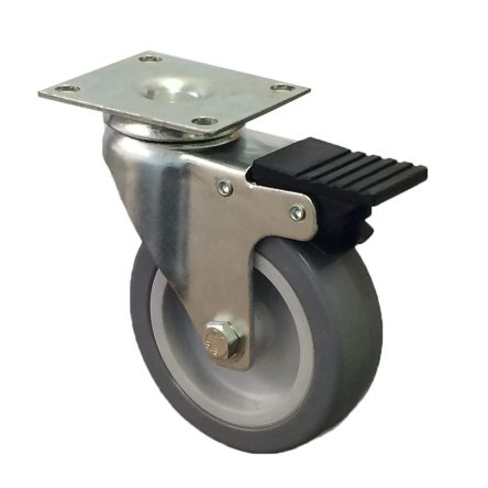 Light Duty Grey Rubber Tyre Plate Fitting Range