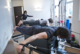 cours de pilates machine