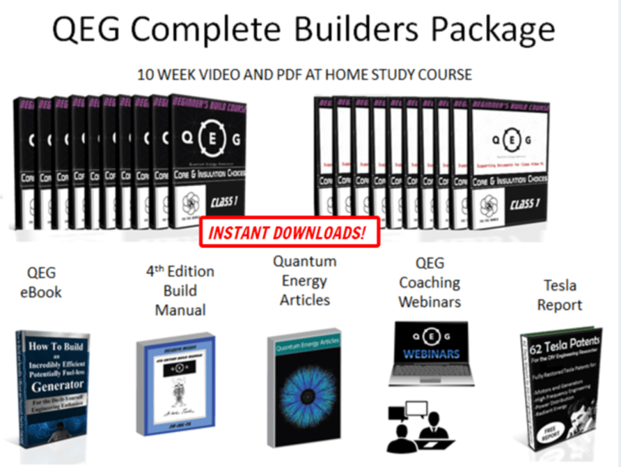 QEG fuel-less generator complete package