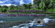 Costa Rica is trying to go a year without fossil fuels