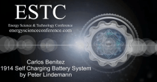 2018 ESTC: Peter Lindemann demonstrates Benitez Self-Recharging Battery System
