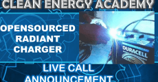 Opensourced Radiant Charger Live Call Clean Energy Academy  6PM EST 11/2/18