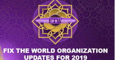 Fix the World Organization Updates for 2019