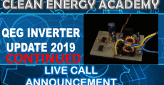 Live Call Sunday February 17th QEG Inverter Continued 6PM EST