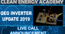 QEG Inverter Update Live Call Sunday January 13 2019 6PM