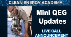 Mini QEG Updates Live Call March 3 2019 6pm EST