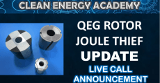 QEG Rotor Testing and Joule Thief Update Live Call  Sunday June 14  5PM