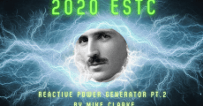 **Available Now** 2020 ESTC -Mike Clarke's Reactive Power Motor Generator, Part 2
