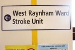 West Raynham - Sign