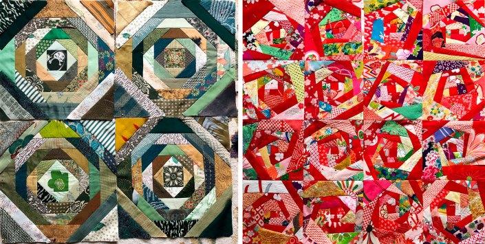SAQA Retreat Quilts @ Susan Ball Faeder