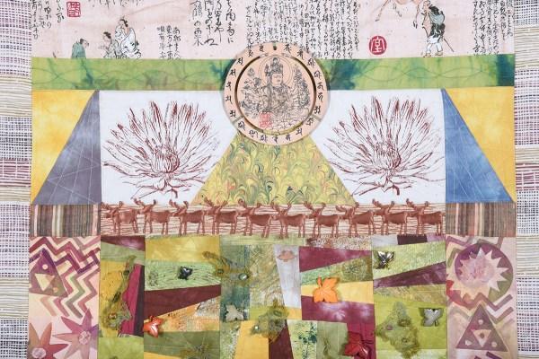 Detail of Empress Jingu's Sacred Combs © Susan Ball Faeder