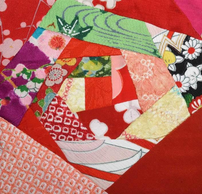 Detail of Shichi-Go-San (7, 5, 3) © Susan Ball Faeder