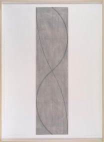 Robert Mangold, Study for Column / Figure 20, 2004, pastel and pencil on paper, 106 x 75,6 cm