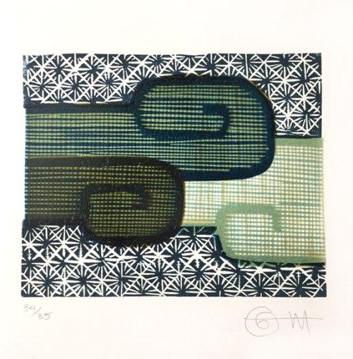 Lucinda-Tanner--Virginia-Woolfe--Stream-of-Consciousness--Woodblock-print--