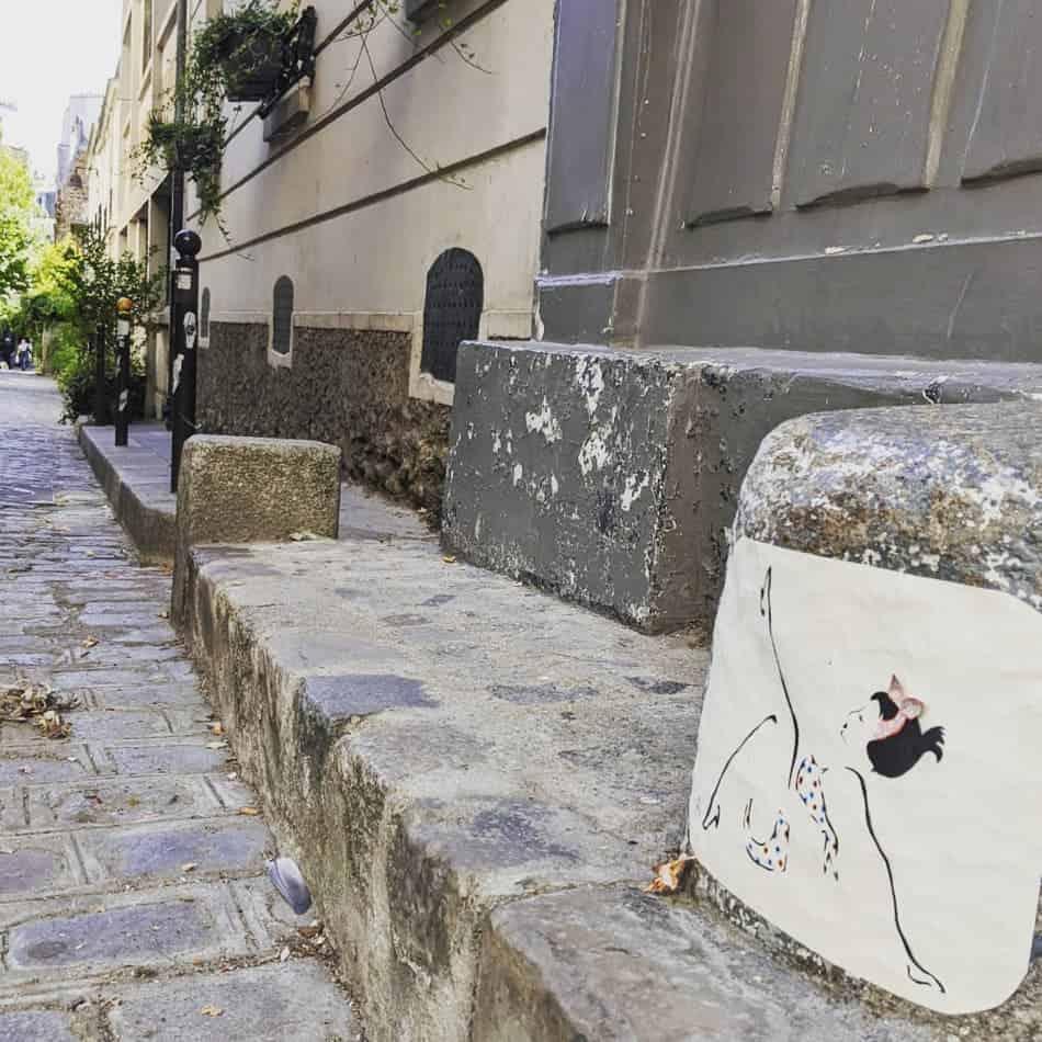 missgreen grenouille street art