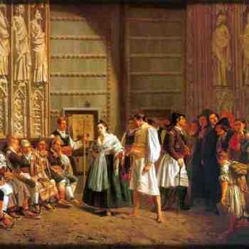 Il Tribunale delle Acque, pittura di Bernardo Ferrandiz