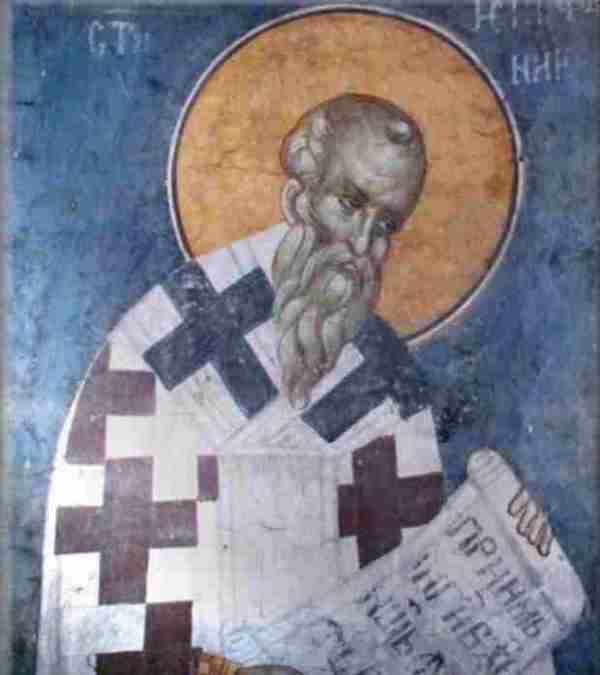 Epifanio da Salamina, uno dei Padri della Chiesa