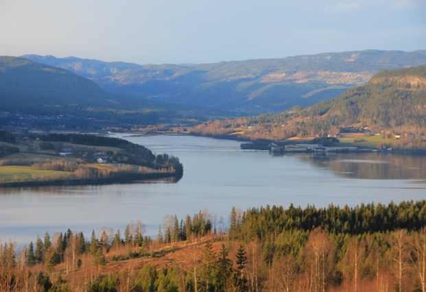 Norvegia Grue Hedmark paesaggio