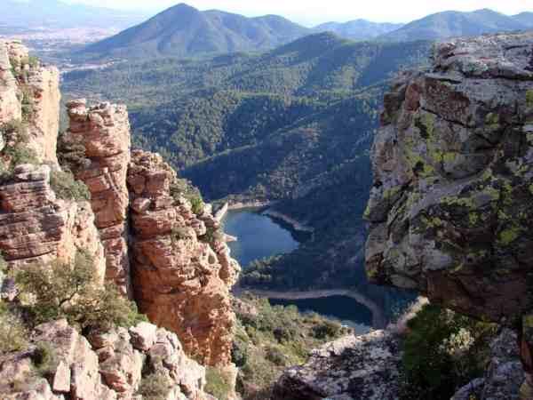 Panorama Sierra Espadan, Spagna