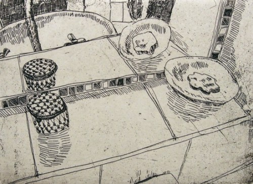 Carolyn Hawkins_Collection 3__2014_etching