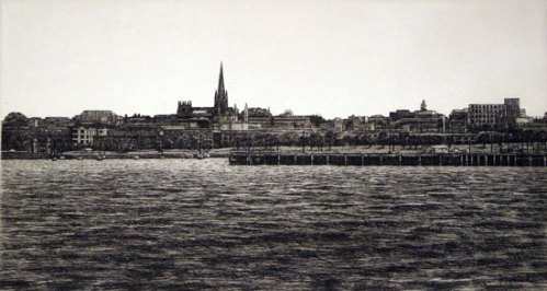 WOLTER-JOEL_View-of-Geelong-from-Rippleside_Etching